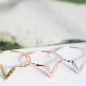 💘 geometric ring